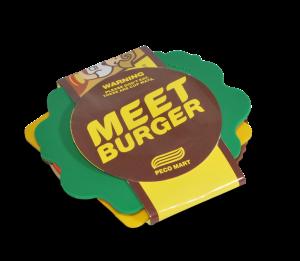 MEET BURGER (CUP'S SAUCER) 2